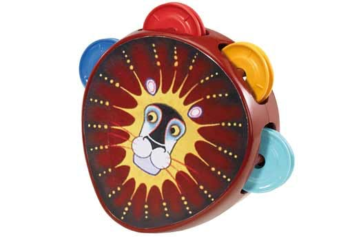Lion-tambourin