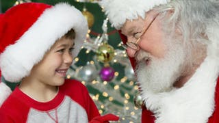 Bébé et le Père Noël