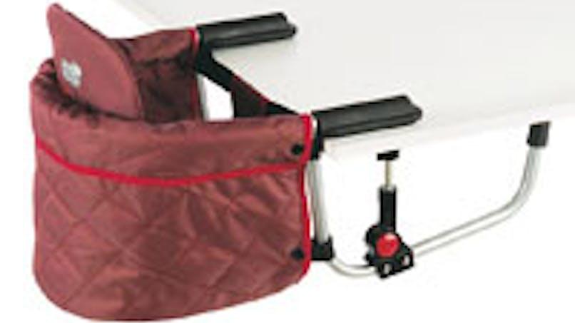 La meilleure chaise de table nomade pour bébé