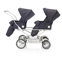 poussette double inglesina domino twin