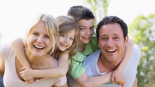 La carte Enfant Famille