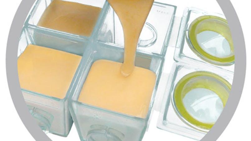 Cubes pour purées et compotes