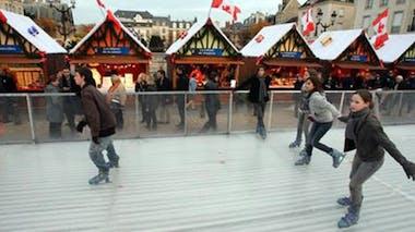 Patinoire en plein air de Reims