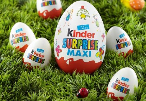L'œuf Kinder Surprise Maxi