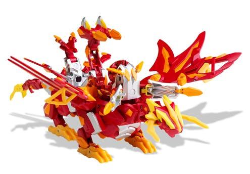 Le Dragonoid colossus Bakugan