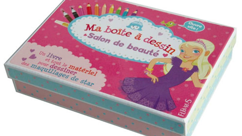 Ma boîte à dessin « Salon de beauté »