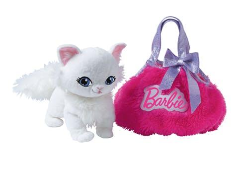 Peluche avec sac à main - Barbie