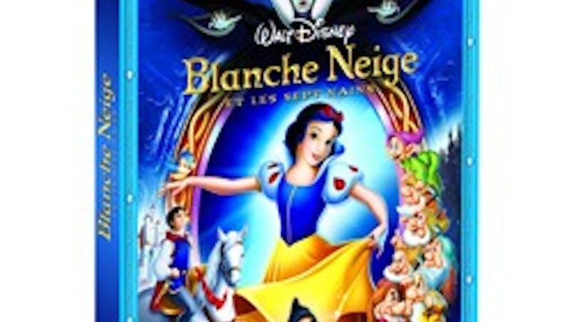 Blanche Neige et les sept nains en Blu Ray