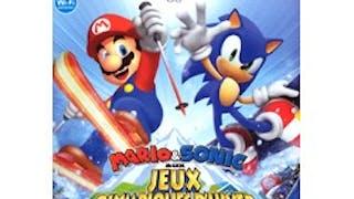 Mario et Sonic aux JO d'hiver sur Wii