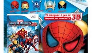 Marvel Super Heroes en 3D sur Wii