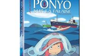 Ponyo sur la falaise en DVD et Blu-Ray