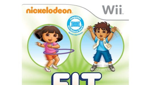 Nickelodeon Fit sur Wii