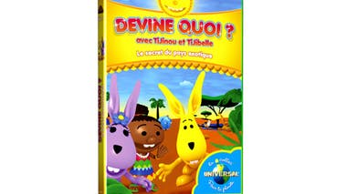 Devine quoi avec Tijinou et Tijibelle, en DVD