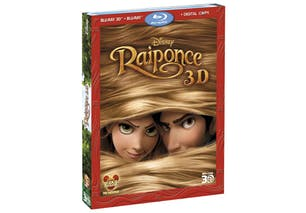 Raiponce en 3D, en Blu Ray