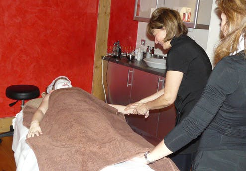 Massage des mains