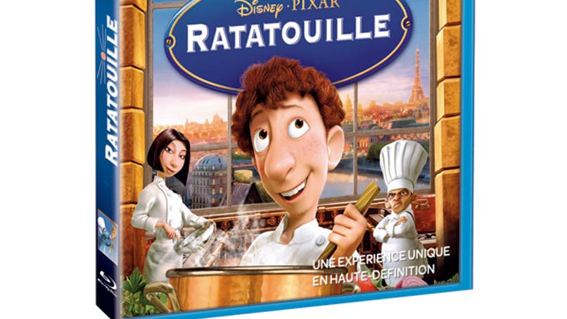 Ratatouille en Blu Ray