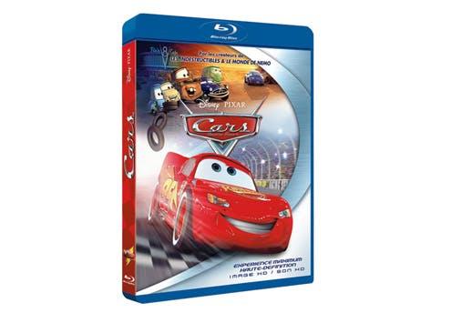 Cars en Blu Ray