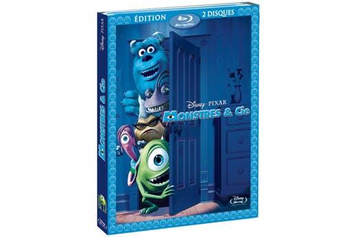 Monstres & Cie en Blu ray