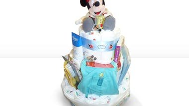 Gâteau de couches Mickey