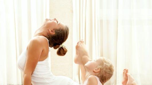 Le yoga pour les bébés