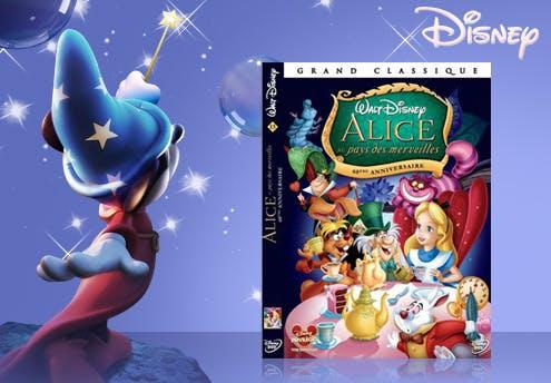 Alice au pays des merveilles, en DVD (1951)
