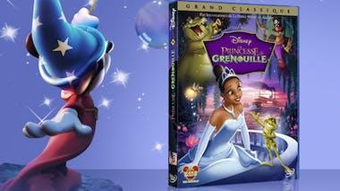 La princesse et la grenouille, en DVD (2010)