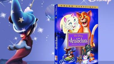 Les Aristochats, en DVD (1970)