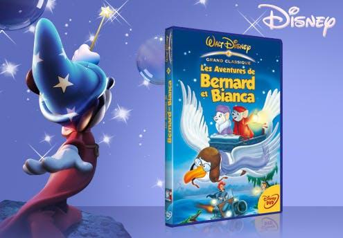 Les Aventures de Bernard et Bianca, en DVD (1977)