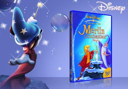 Merlin l'enchanteur, en DVD (1963)