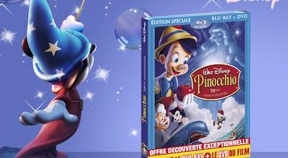 Pinocchio, en Blu-ray (1940)