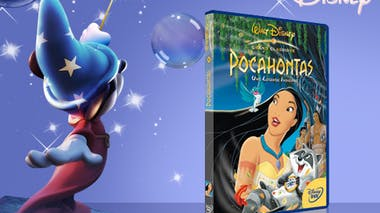 Pocahontas, une légende indienne, en DVD (1995)