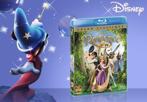 Raiponce, en Blu-ray (2010)
