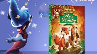 Rox et Rouky, en DVD (1981)