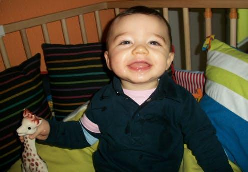 Enzo, 8 mois