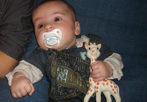 Loukas, 3 mois