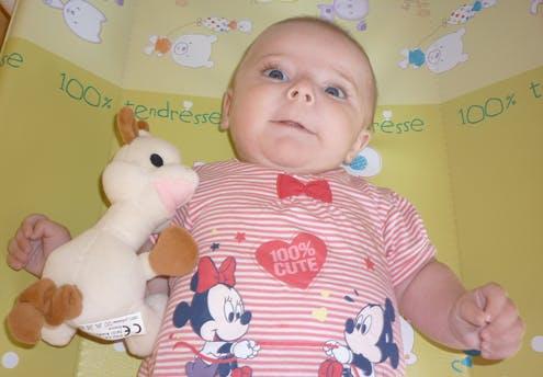 Maëlys, 3 mois