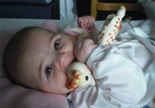Sarah, 4 mois