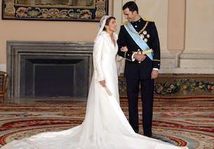 Letizia Ortiz et Felipe de Bourbon