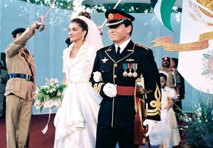 Rania et Abdullah II
