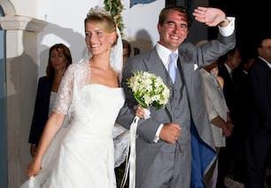 Tatiana Blatnik et Nicolaos de Grèce