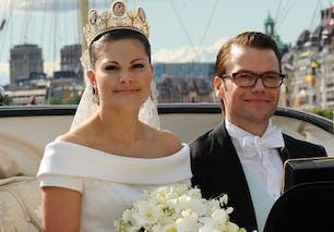 Victoria de Suède et Daniel Westling