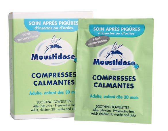 Lingettes anti-moustiques