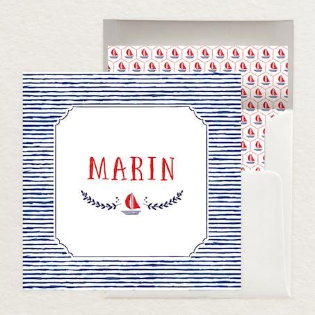 Faire-part marin