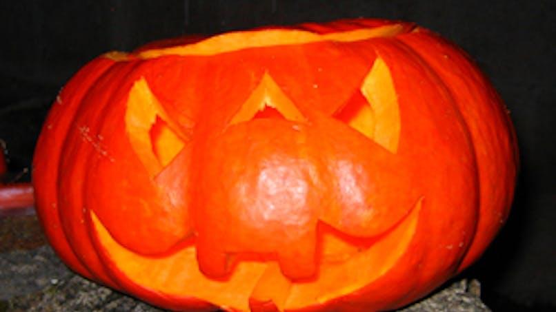 Prépare ta citrouille d'Halloween !