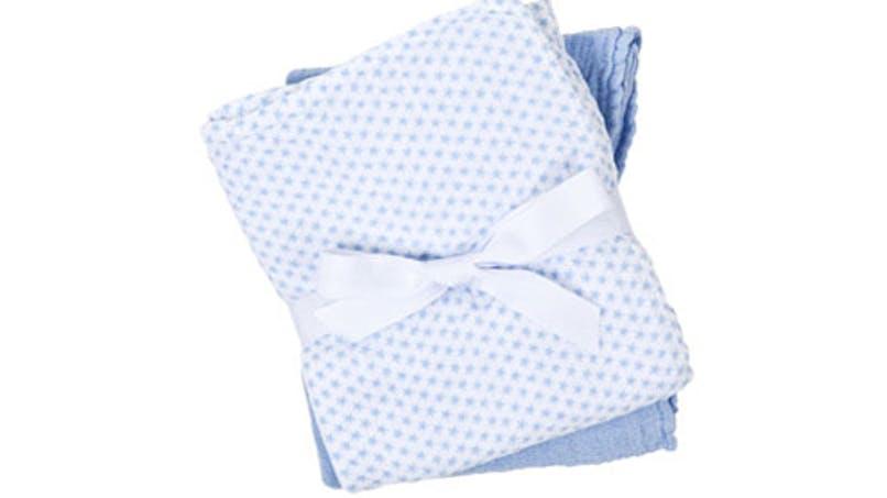 Six langes en tissu