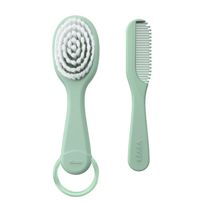 Une brosse à cheveux