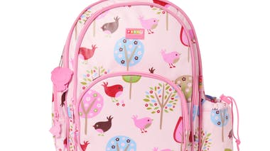 Cartable chirpy bird