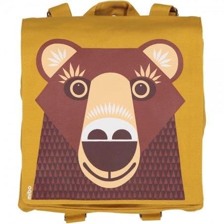 Sac à dos ours brun