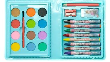Boîte à coloriage Reine des Neiges