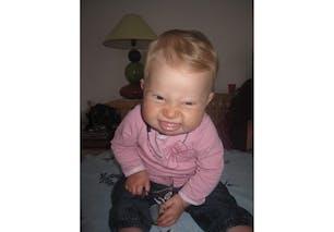 Amandine, 10 mois